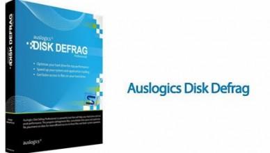 AusLogics Disk Defrag Pro 10