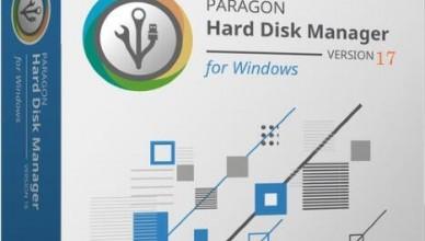 Paragon Hard Disk Manager 17 (2020)