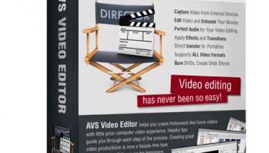AVS Video Editor 9.4 (полная версия с ключом)