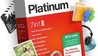 Nero 2020 Platinum + серийный номер
