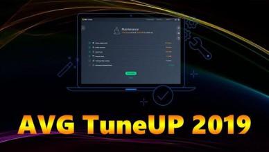 AVG TuneUp 2019 + Ключ