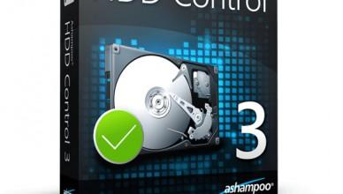 Ashampoo HDD Control 3.2 + ключ