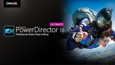 CyberLink PowerDirector Ultimate 18 + Ключ